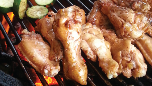 BBQ Chicken Adobo-Style Hot Wings