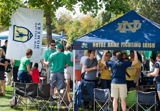 2017 Top College Tailgates #18 University of Notre Dame