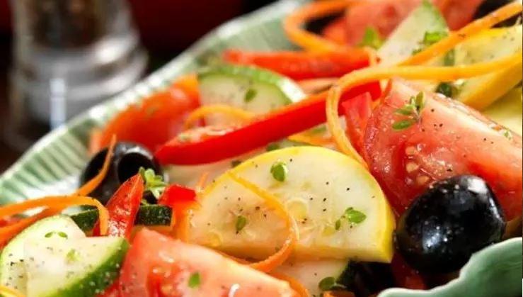 Garlic Marinated Vegetables