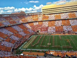 2017 Top College Tailgates #9 University of Tennessee