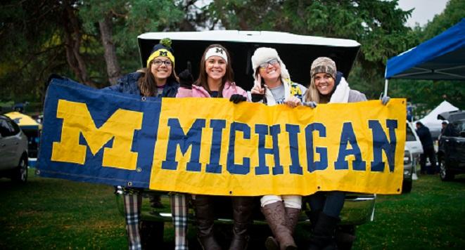 2017 Top College Tailgates #8 University of Michigan
