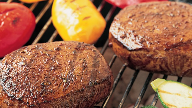 Grilled Beef Steaks with Ancho Chili Rub