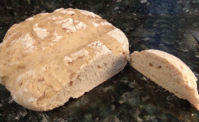 Sour Dough Garlic Artisan Bread