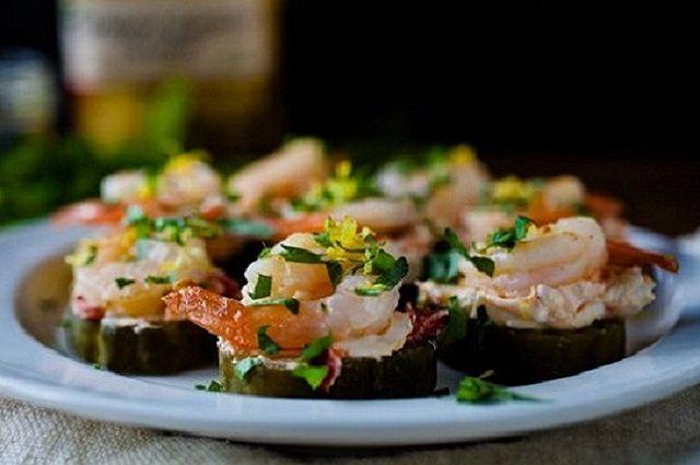 Tailgating Food Appetizer – Pickled Shrimp Bites