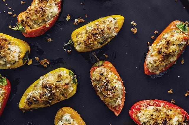 Sweet Italian Pepper Poppers