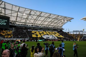 New Soccer Stadium, Ritual Debuts In LA