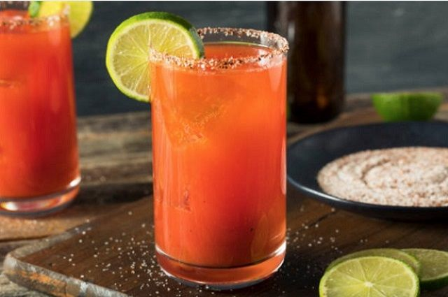 The Michelada Mexican Beer Cocktail