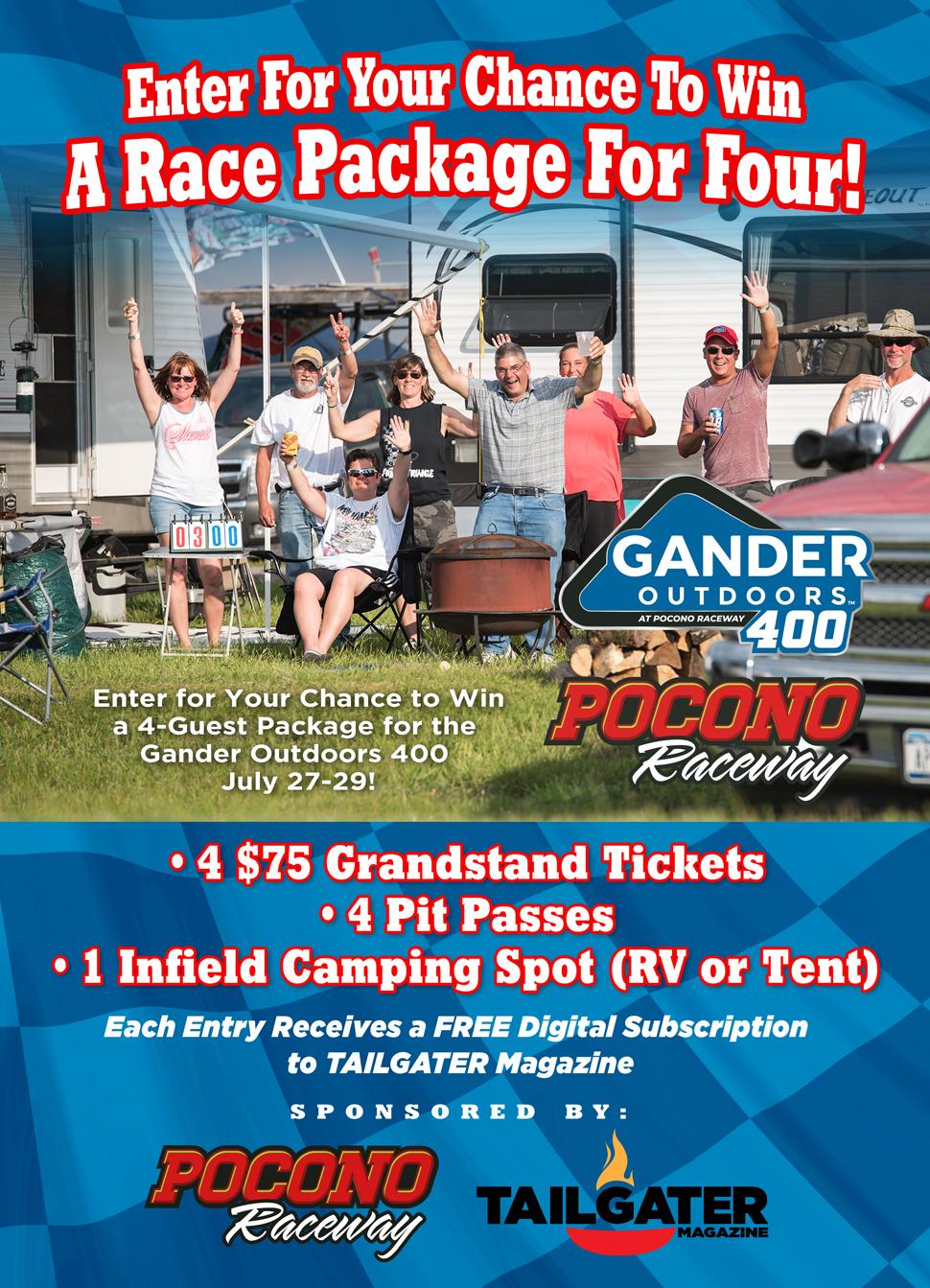Pocono Raceway Giveaway