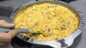 Grill Side Cheesy Corn