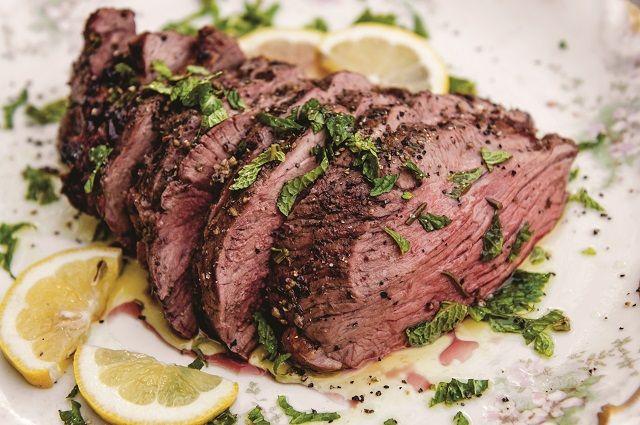 Lemon and Fresh Herb Grill-Roasted Leg of Lamb