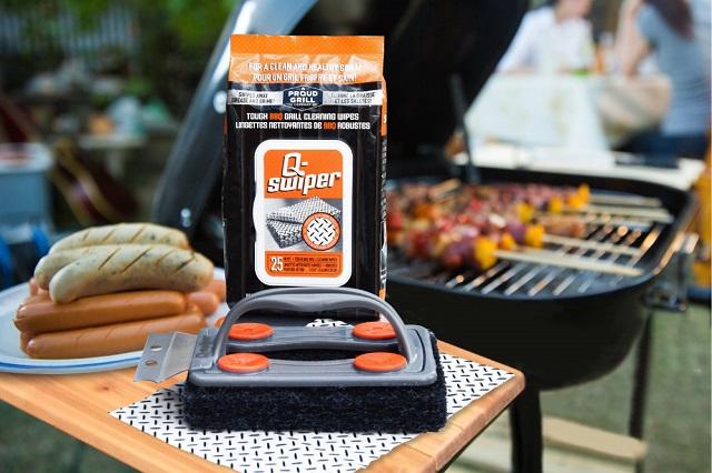 Q-Swiper® Bristle-Free Grill Cleaner