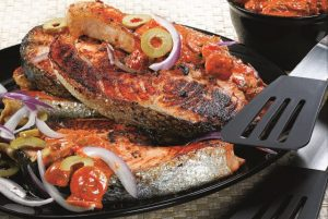 North African-Style Grilled Salmon