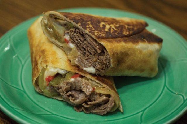 Chimirito Cheesesteak Sandwiches