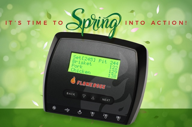 Flame Boss® 500 WiFi Smoker Controller