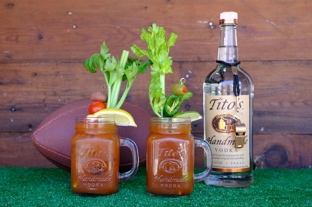 Tito's Super Bowl Kick-off Cocktails