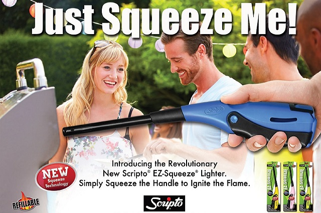Scripto® EZ-Squeeze™ Multi-Purpose Lighter