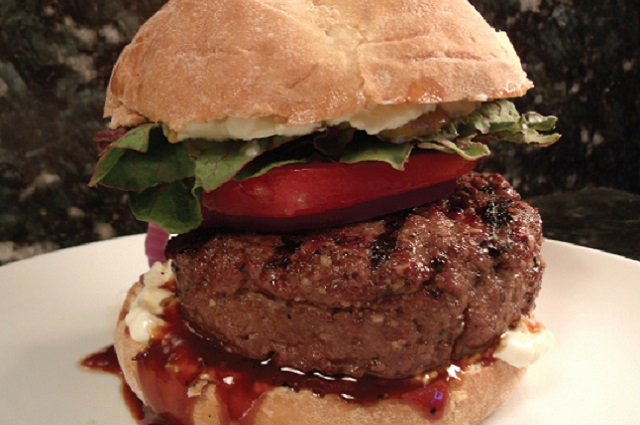 Thai Stuffed Burgers