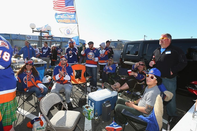 Hockey Tailgating? Get the Puck Outta Here!