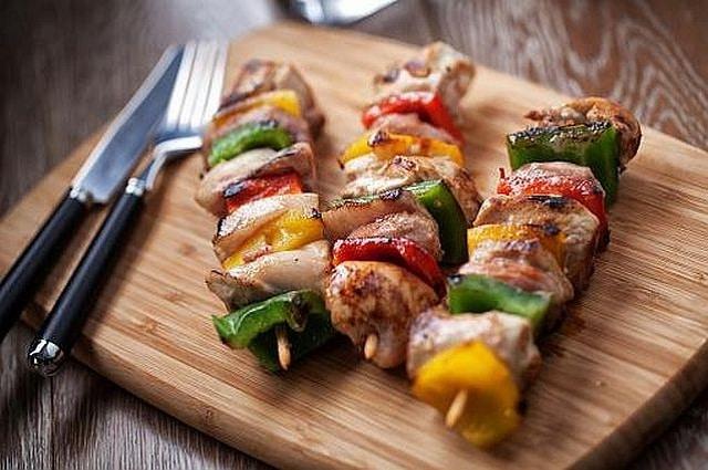 Firepod Spicy Chicken Kebabs