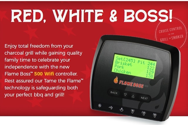 Flame Boss® 500 WiFi Smoker Controller