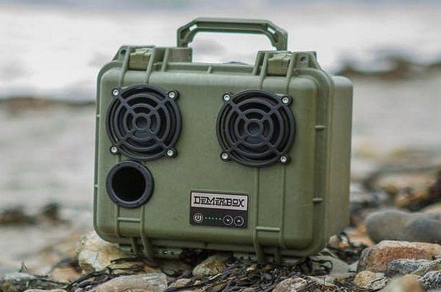 DemerBox Outdoor Bluetooth Speaker