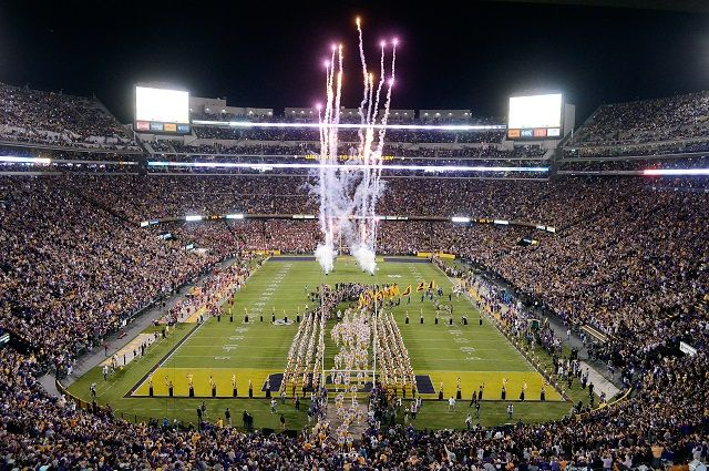 LSU – Tigers Death Valley Tailgating
