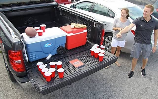 Truck Tailgate Beer Pong Table