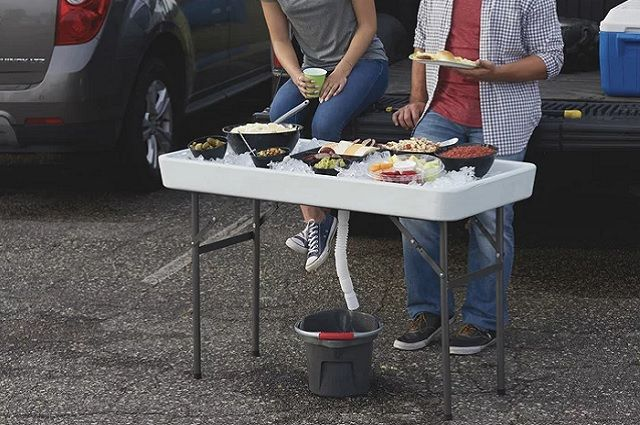 Tailgate Ice Party Table