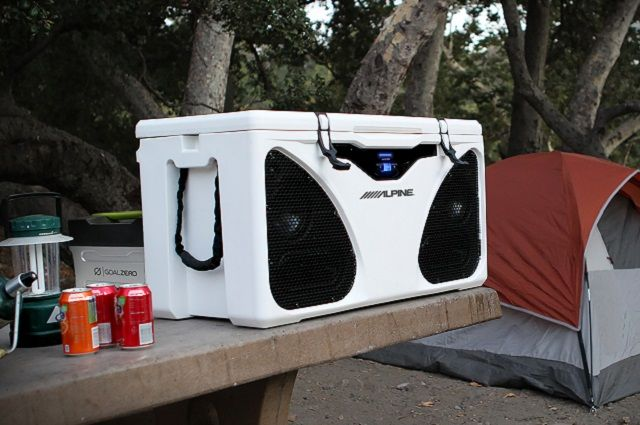 Alpine ICE In-Cooler Entertainment PWD-CB1