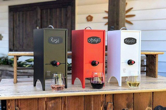 Little Nook Box Wine Dispenser