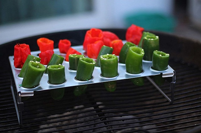 Jalapeno Grill Rack & Pepper Corer