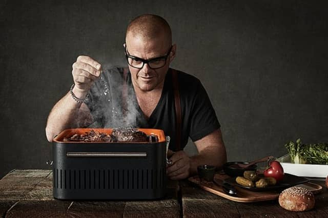 CUBE Portable Charcoal Grill