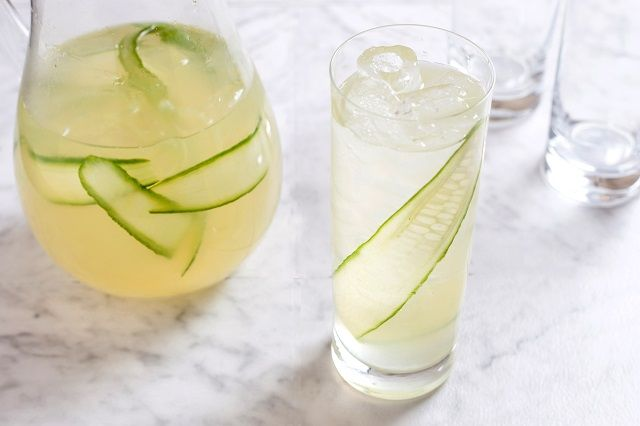 Ginger Cucumber Lemonade