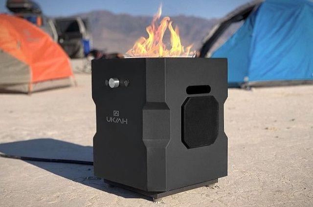 UKIAH Tailgater II Portable Fire Pit
