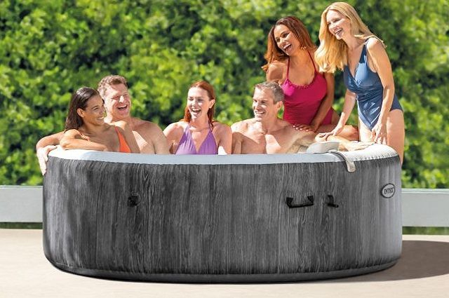 PureSpa Greywood Deluxe Hot Tub