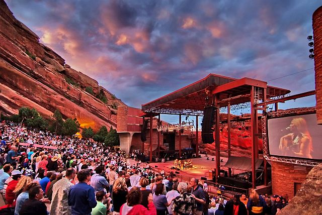 Rock 'n' Rolling at Red Rocks