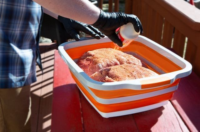 Drip EZ BBQ Prep Tub