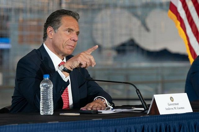 "NY Governor Says Fall College Sports to be ""Fanless"""