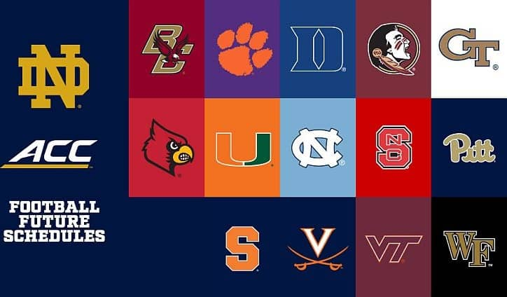 ACC Sets 11-Game Fall Football Schedule