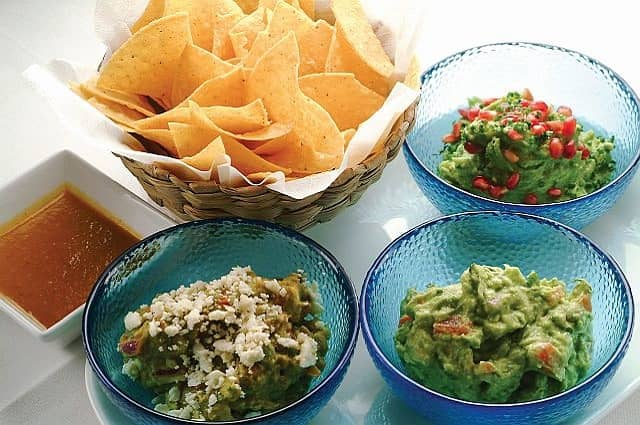 Guacamole Trio from Toloache