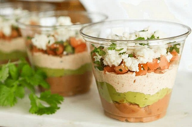 Mexican 5-Layer Dips