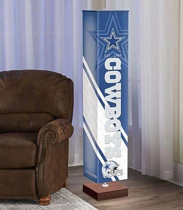 NFL 5-foot floor lamp