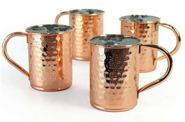 Copper Plated Moscow Mule MugSet