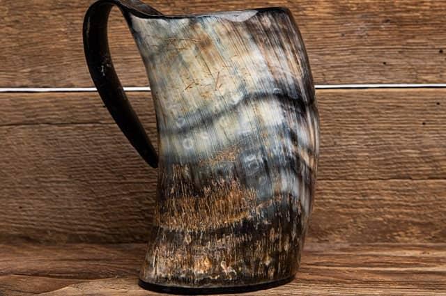 AleHorn Viking Drinking Horn