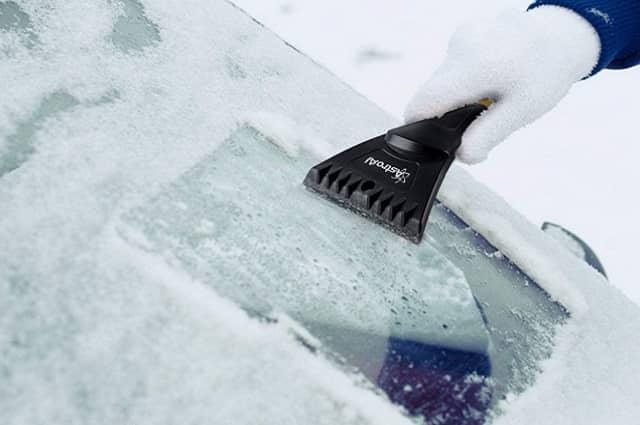 AstroAI Snow Brush and Detachable Ice Scraper