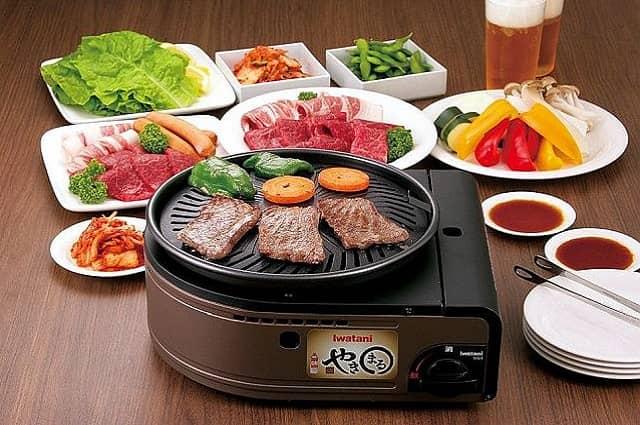 Iwatani Smokeless Korean Barbecue Grill