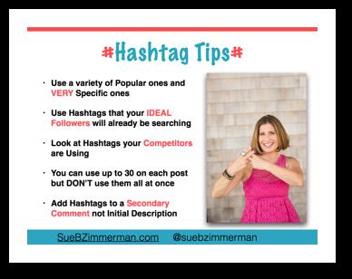 Instagram Hashtag Tips