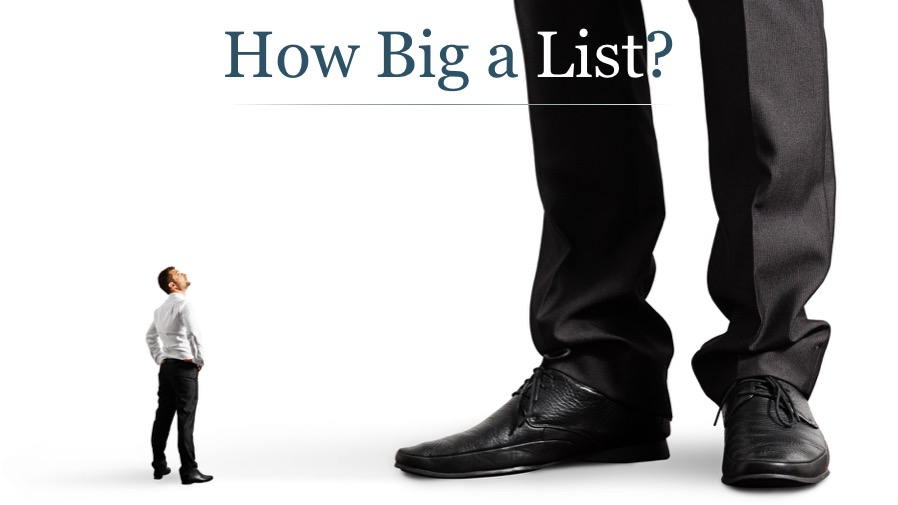 How Big a List Do You Need?