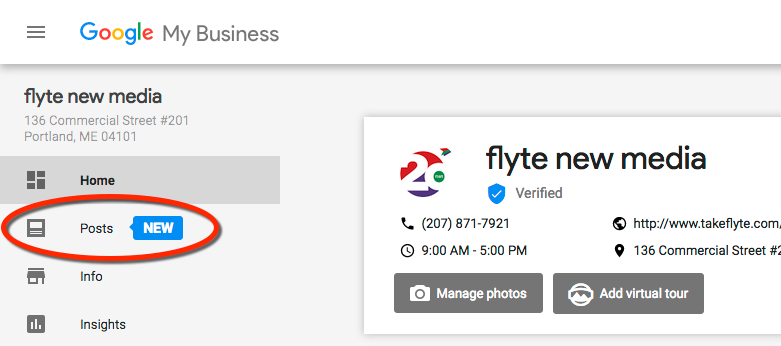 Google My Business Posts