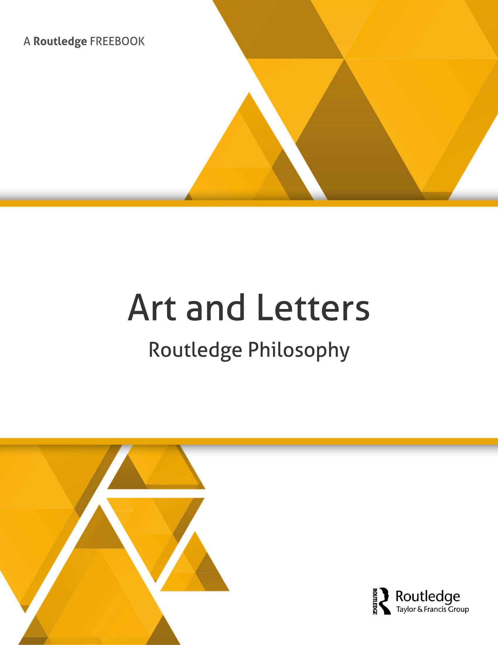 Art and Letters Freebook